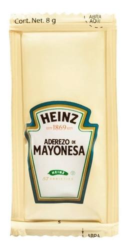 200 sobres de 8 g aderezo de mayonesa heinz
