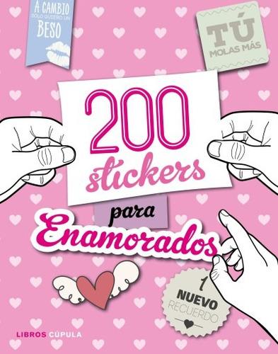 200 stickers para enamorados(libro )