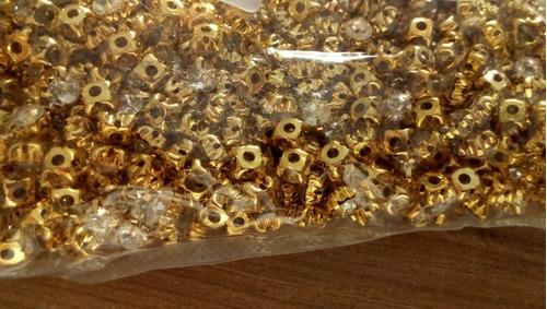 200 strass dourado para costura vestidos noivas