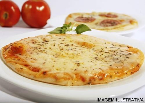 200 unid. pizzas brotinho congeladas/pré assadas/pronto uso