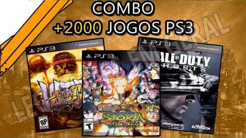 2000 jogos de ps3, leia a descriçao antes de comprar.