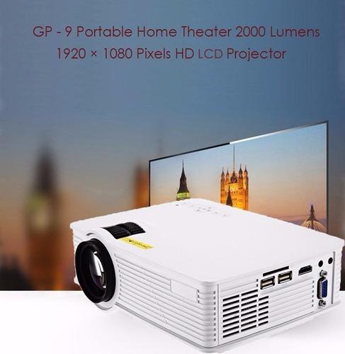 2000 lúmenes proyector 1080 p hd