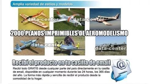 2000  planos aeromodelismo radio control  aviones a escala