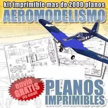 2000 planos aeromodelismo radiocontrol aviones radio control