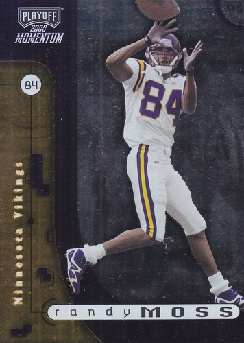 2000 playoff momentum randy moss wr vikings