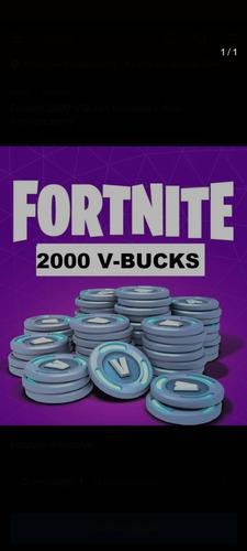 2000 vbuck são enviados como presente da loja