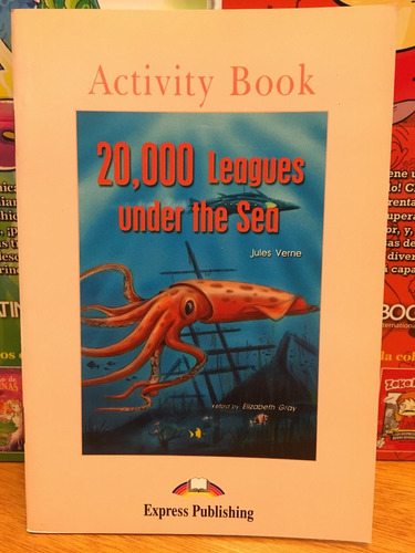20000 leagues under the sea - activity book - express pub