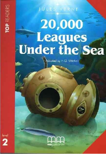 20000 leagues under the sea - level 2 - top readers mm w/cd