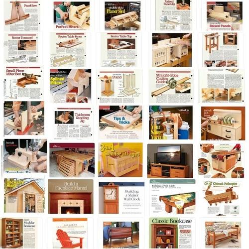 20000 planos carpinteria herramientas muebles mesas sillas