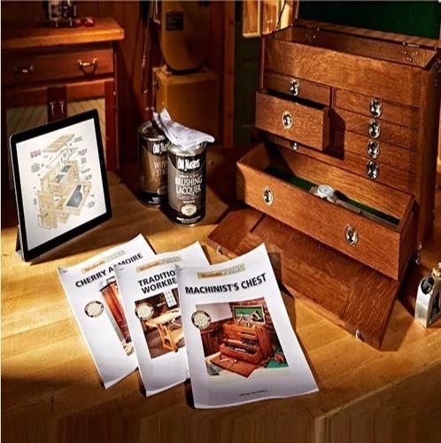 20.000 planos carpintería madera muebles mesa bancos