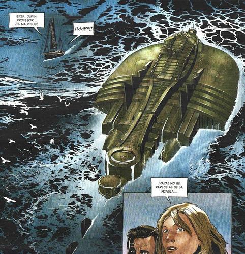 20000 siglos bajo los mares - 001 ediciones - nemo - cthulu