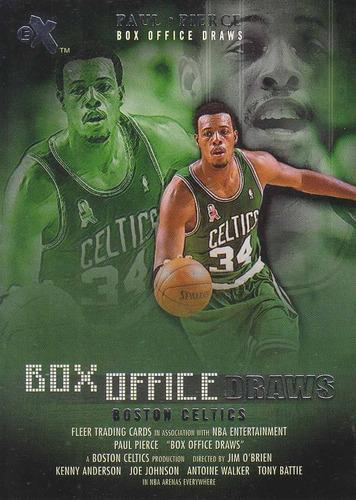 2001-02 e-x box office draws paul pierce celtics