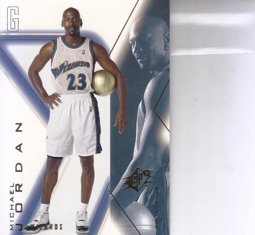 2001-02 spx michael jordan bulls wizards