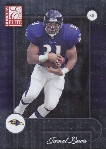 2001 donruss elite jamal lewis rb ravens
