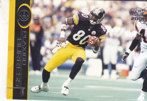2001 pacific plaxico burress wr steelers
