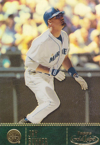 2001 topps gold label class 1 jay buhner of mariners