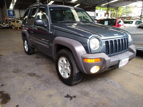 2002 jeep liberty sport fact. original