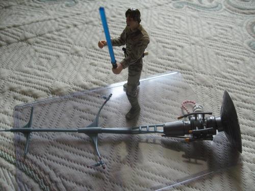 2002 star wars esb bloody luke skywalker bespin duel