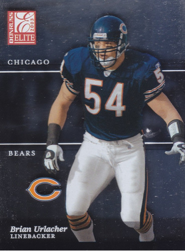 2003 donruss elite brian urlacher lb bears