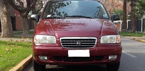 2003 hyundai trajet gl 2.0 aut van