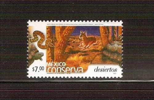 2004 mex conserva s permanente $7.00 desiertos nuevo