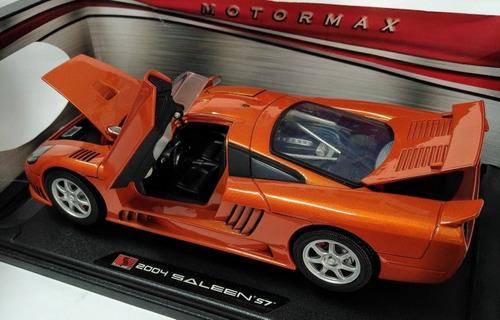 2004 saleen s7 escala 1/18 motormax