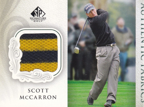 2004 sp signature golf worn shirt scott mccarron