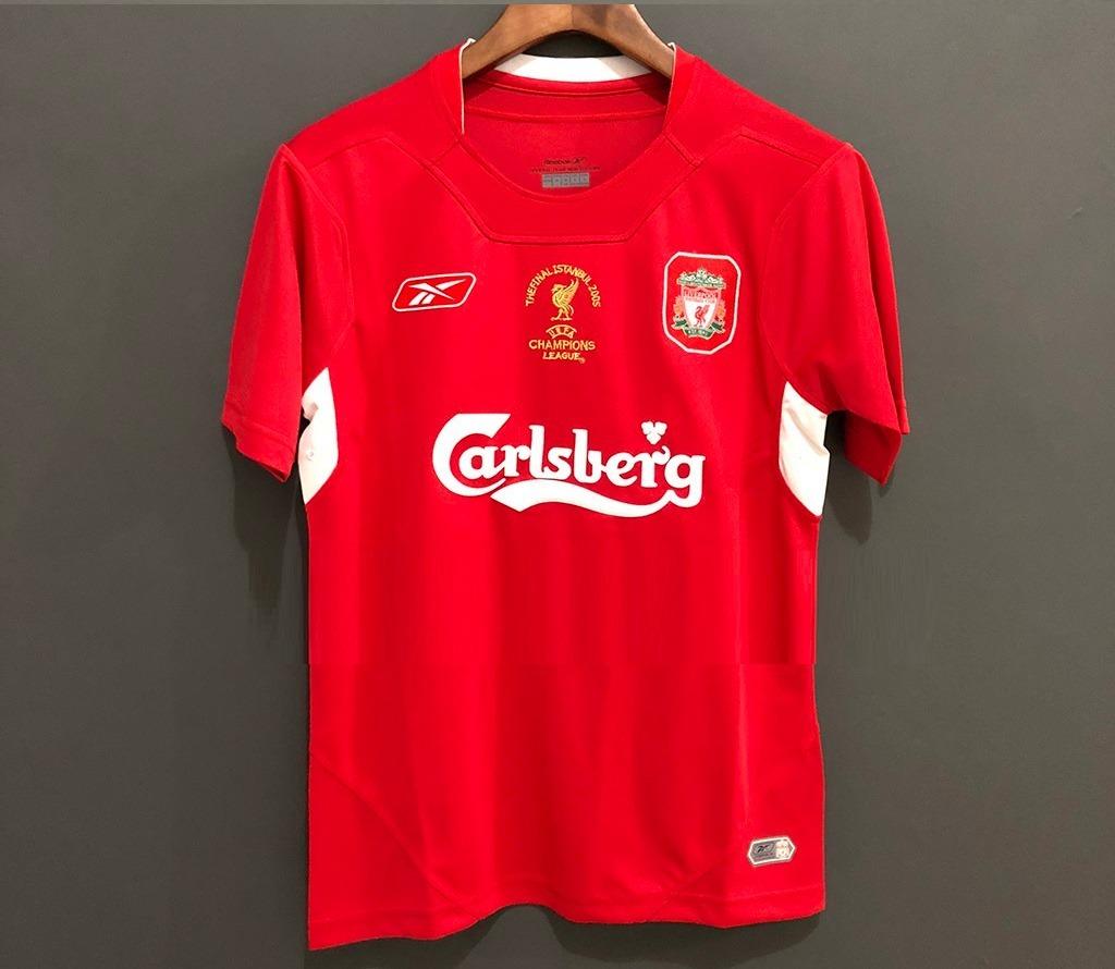 2005 camisa liverpool home gerrard   8. Carregando zoom. d07ee146cce37