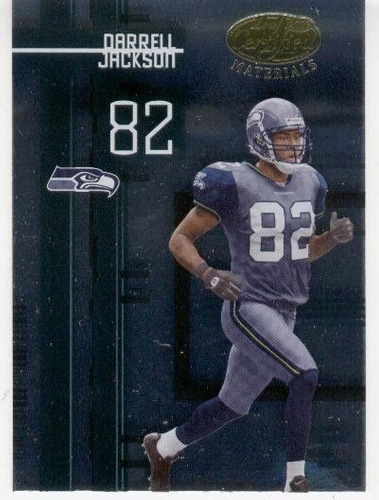 2005 certified materials darrell jackson seattle seahawks wr