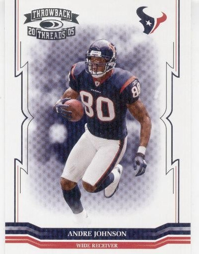 2005 throwback threads andre johnson houston texans