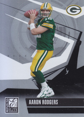 2006 donruss elite aaron rodgers qb packers