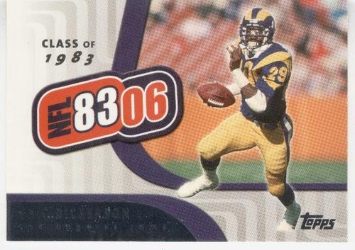 2006 topps 83/06 eric dickerson los angeles rams