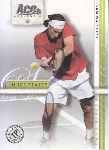 2007 ace silver sam warburg united states tennis