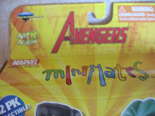 2007 artasylum marvel avengers minimates wonder man she-hulk
