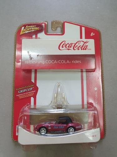 2007 johnny lightning 1/64 coca cola 1966 shelby 427 cobra