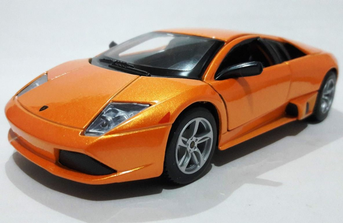 2007 Lamborghini Murcielago Lp 640 Maisto 1 24 Nuevo Naranja