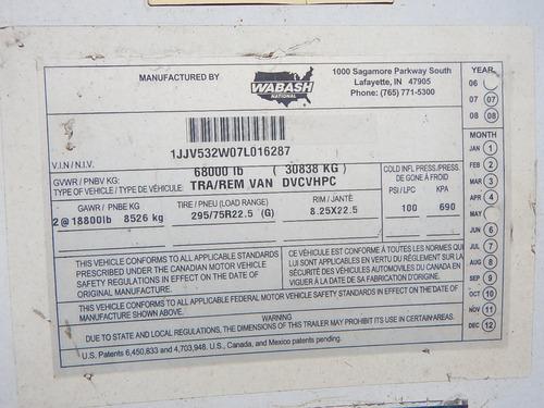 2007 wabash caja seca 53x102 gm107174