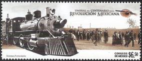 2008 Ferrocarril De La Revolución Sello Mnh Sc 2603 Tren