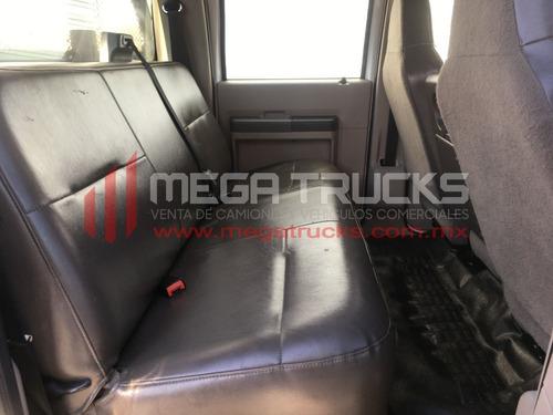 2009 ford f-550 crew cab plataforma 12´pies chevrolet