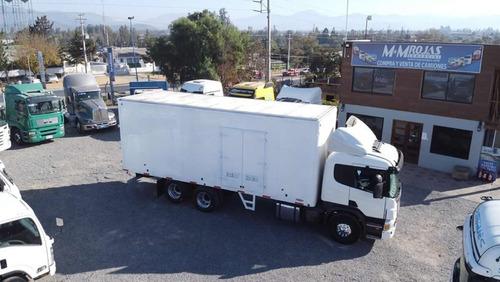 2009 scania p-340 6x2 furgonado