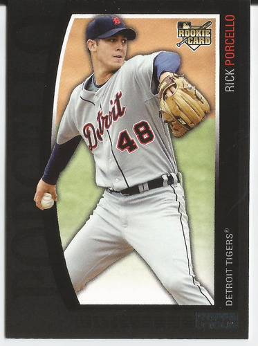 2009 topps unique rookie 1660/2699 rick porcello p tigers