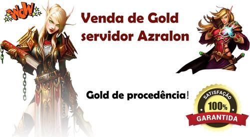 200k ouro gold wow -  azralon horda - entrega imediata!
