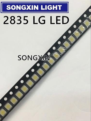 200peças leds 2835 1w 3v para barras de led tv lg original