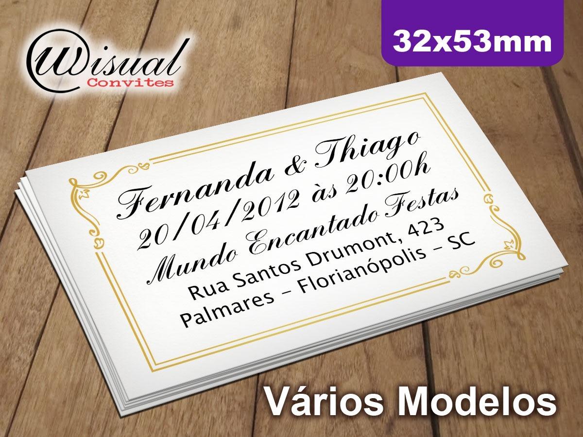200un Mod 17 Convite Individual Senha Ci25np