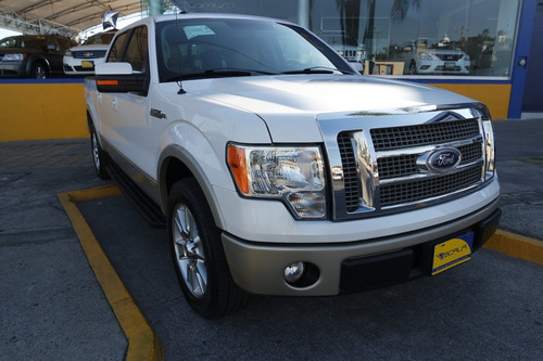 2010 ford lobo lariat 4x2 color blanco