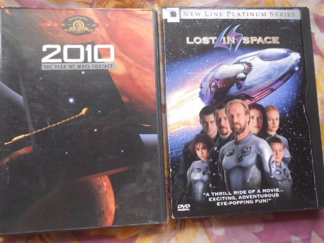 2010 & Lost In Space 2 Dvd's Orig  Impoortados Frete Grátis