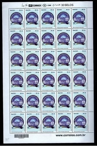 2011 - c-3099 - folha selos associação comercial da bahia