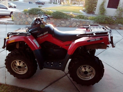 2011 can am outlander xt  800r  98 hrs de uso y  winch