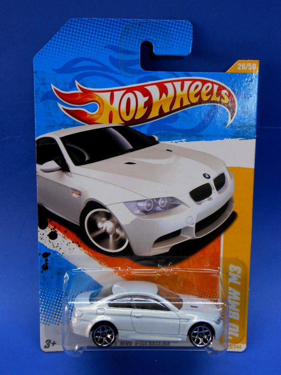 2011 Hot Wheels Premiere 10 Bmw M3 Blanco 350 00 En Mercado Libre