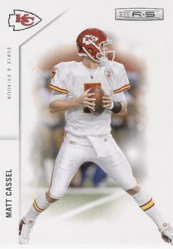 2011 rookies & stars matt cassel kansas city chiefs